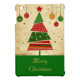 ヴィンテージのスタイルの休日の木のiPad Miniカバー iPad Miniカバー