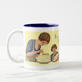 ヴィンテージのスタイルの台所コーヒー及び茶マグ ツートーンマグカップ