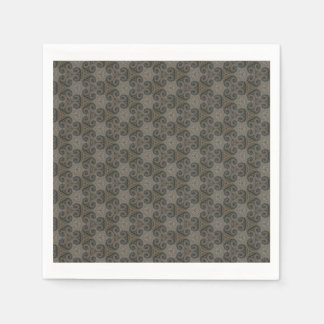 ヴィンテージのスタイルの紙ナプキン スタンダードカクテルナプキン