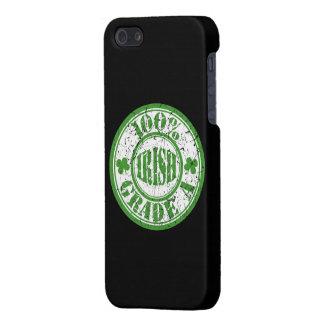 ヴィンテージのスタイル100%のアイルランド人のスタンプ iPhone 5 ケース