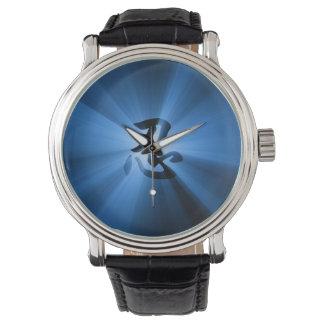ヴィンテージのスタイルNINの漢字のブルースターの破烈 腕時計
