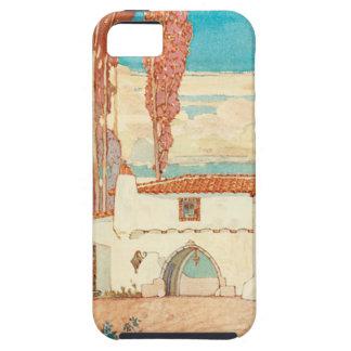 ヴィンテージのスペイン人のプリントのiPhoneの場合 iPhone SE/5/5s ケース