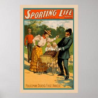 ヴィンテージのスポーツのな生命ポスター ポスター