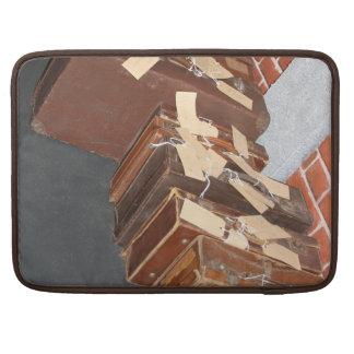"""ヴィンテージのスーツケースMacbookプロ15""""袖 MacBook Proスリーブ"""