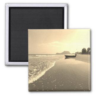 ヴィンテージのタイによって捨てられるビーチの磁石 マグネット