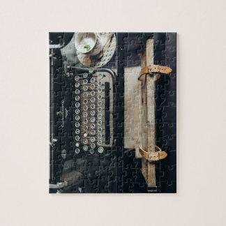 ヴィンテージのタイプライターのパズル ジグソーパズル