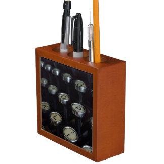 ヴィンテージのタイプライターは机のオルガナイザーを調整します ペンスタンド