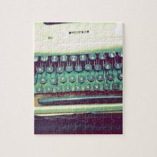 ヴィンテージのタイプライター ジグソーパズル