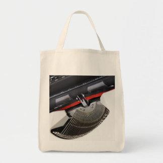 ヴィンテージのタイプライター トートバッグ