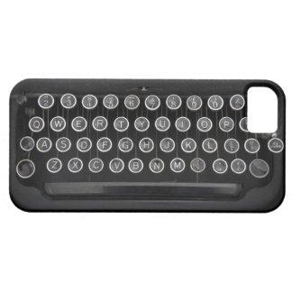 ヴィンテージのタイプライター iPhone SE/5/5s ケース