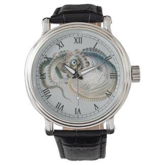 ヴィンテージのタコの冒険家、海洋生物動物 腕時計