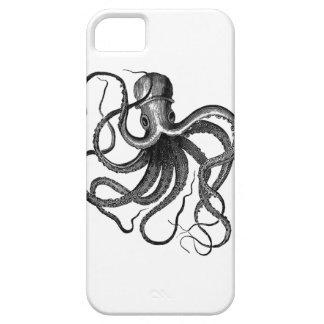 ヴィンテージのタコの絵 iPhone SE/5/5s ケース