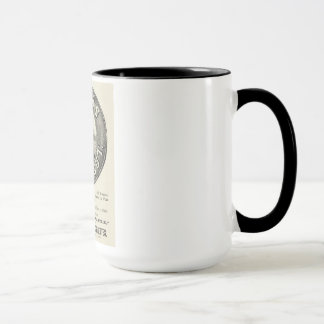 """ヴィンテージのタバコの広告の""""ネイビーカット""""のコーヒー・マグ マグカップ"""