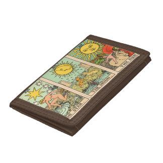 ヴィンテージのタロットのトリオの財布