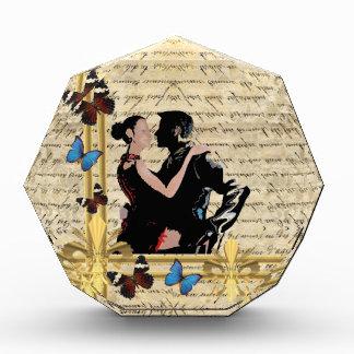 ヴィンテージのタンゴのダンサー 表彰盾