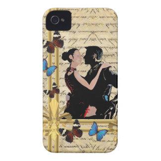 ヴィンテージのタンゴのダンサー Case-Mate iPhone 4 ケース