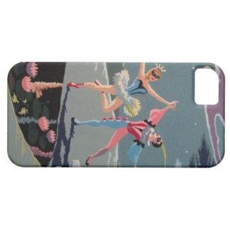 ヴィンテージのダンサーPBNのiPhone 5/5sの場合 iPhone SE/5/5s ケース