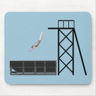 ヴィンテージのダンプスターのダイビングのギフト マウスパッド