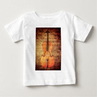ヴィンテージのチェロ ベビーTシャツ