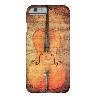 ヴィンテージのチェロ BARELY THERE iPhone 6 ケース