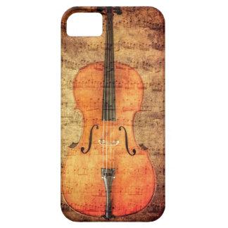 ヴィンテージのチェロ iPhone SE/5/5s ケース