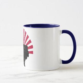 ヴィンテージのテキサス州の火炎信号のマグ マグカップ