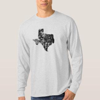 ヴィンテージのテキサス州の長い袖のワイシャツ Tシャツ