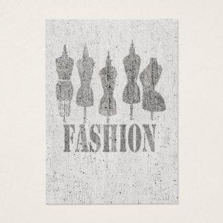 ヴィンテージのテーラー模造のレトロの服の型枠 名刺
