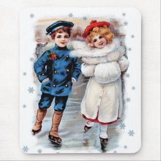 ヴィンテージのデザインのクリスマスのギフトのマウスパッド マウスパッド