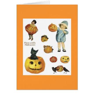 ヴィンテージのデザイン ノートカード