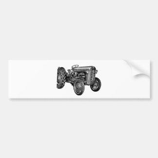 ヴィンテージのトラクター バンパーステッカー