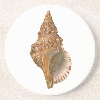 ヴィンテージのトリトンの貝殻の貝、海洋の海動物 コースター
