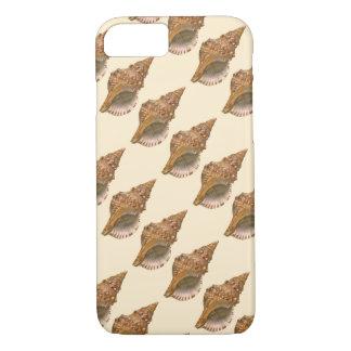 ヴィンテージのトリトンの貝殻の貝、海洋の海動物 iPhone 8/7ケース
