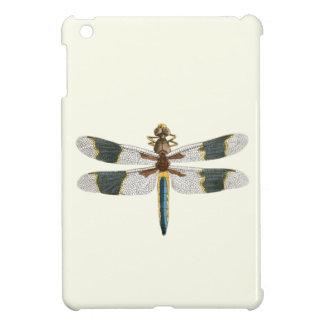 ヴィンテージのトンボのスケッチの旧式な昆虫のアートワーク iPad MINIケース