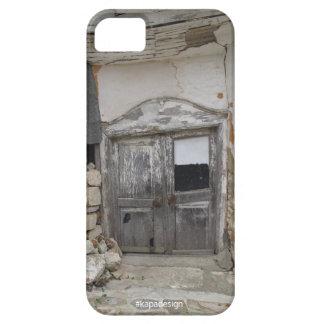 ヴィンテージのドアのiPhoneの場合 iPhone SE/5/5s ケース