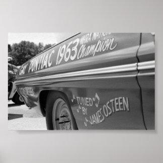ヴィンテージのドラッグ- 1963チャンピオン ポスター