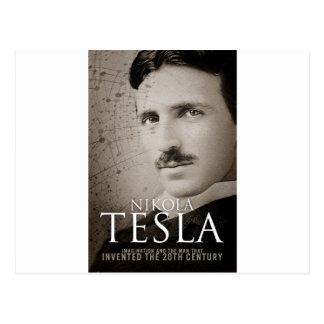 ヴィンテージのニコラ・テスラの写真 ポストカード