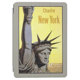 ヴィンテージのニューヨークの名前をカスタムする装置カバー iPad AIR カバー