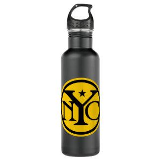 ヴィンテージのニューヨークシティのロゴ ウォーターボトル