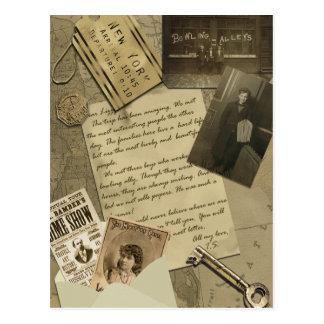 ヴィンテージのニューヨーク旅行郵便はがき ポストカード