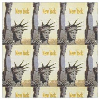 ヴィンテージのニューヨーク米国のカスタマイズ可能な生地 ファブリック