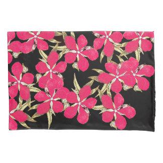 ヴィンテージのハイビスカスによっては花の枕カバーが開花します 枕カバー