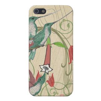 ヴィンテージのハチドリのiPhoneの場合 iPhone 5 Case