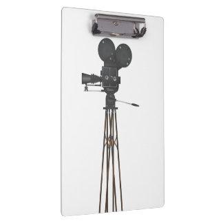 ヴィンテージのハリウッドのカメラ クリップボード