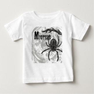 ヴィンテージのハロウィンのモダンなタランチュラ ベビーTシャツ