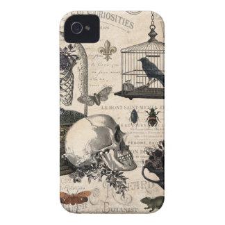 ヴィンテージのハロウィンのモダンな庭 Case-Mate iPhone 4 ケース