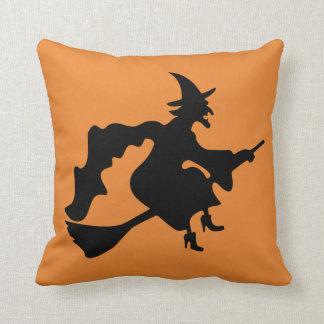 ヴィンテージのハロウィンの魔法使い クッション