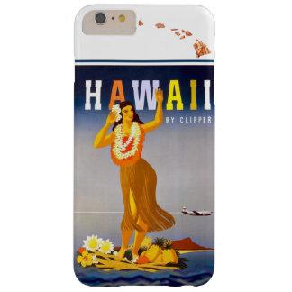 ヴィンテージのハワイのフラの芸術のハワイ諸島の地図 BARELY THERE iPhone 6 PLUS ケース