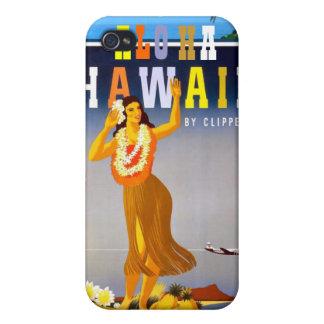 ヴィンテージのハワイ旅行広告 iPhone 4/4S CASE