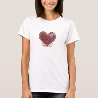 ヴィンテージのハート Tシャツ